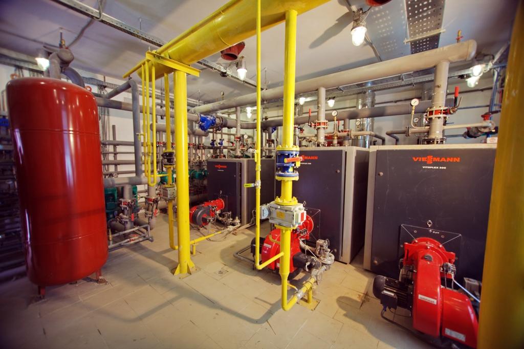 котельная система теплоснабжения сеть газопотребления